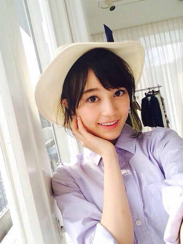 帽子のかわいい生田絵梨花