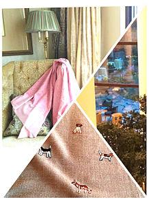 スカーフを飾った家 おしゃれの画像(スカーフに関連した画像)