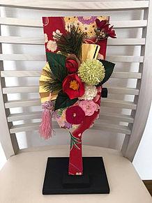花アレンジの羽子板 お正月 おしゃれの画像(おしゃれ お正月に関連した画像)