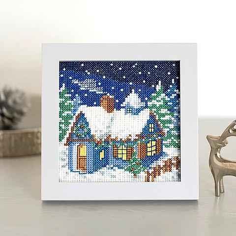 クリスマスの刺繍 おしゃれ  ハートのいいねを押してね!の画像 プリ画像