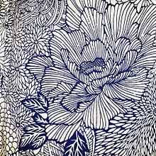 浴衣の花の柄  おしゃれ  写真右下のハートを押してねの画像(浴衣に関連した画像)