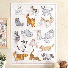 猫の刺繍  おしゃれ  写真右下のハートを押してねの画像(猫 おしゃれに関連した画像)