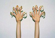 指人形の画像(プリ画像)