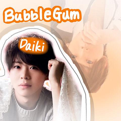 有岡大貴Bubble Gumの画像(プリ画像)