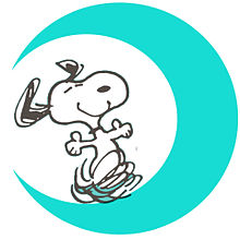 スヌーピー 月加工の画像(プリ画像)