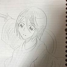 俺氏の描いたヘタな絵の画像(ブリーチに関連した画像)