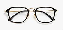大きい顔メガネフレーム軽量度付き眼鏡度なし プリ画像