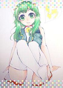 GUMIちゃん(にゃん生ver.)の画像(プリ画像)