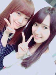 加藤玲奈 田中菜津美 † 1506b AKB48HKT48の画像(プリ画像)