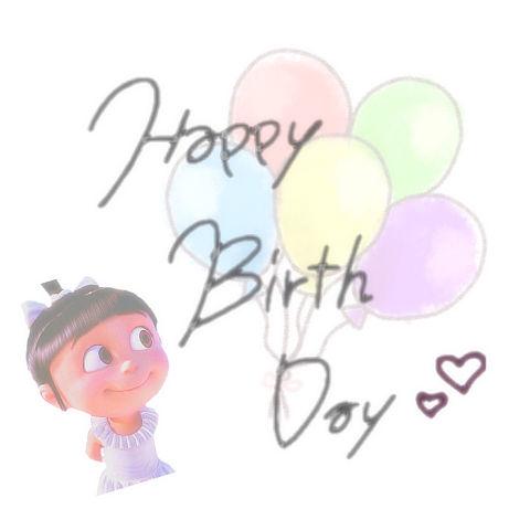 の画像 プリ .*・♥゚Happy Birthday ♬ °・♥*.