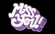 Miss you!の画像(プリ画像)