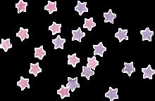Pink & Purple starsの画像(プリ画像)