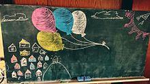 黒板アート プリ画像
