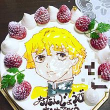 誕生日ケーキ プリ画像