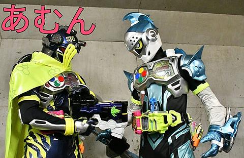 仮面ライダーエグゼイド  ブレイブ&スナイプの画像(プリ画像)
