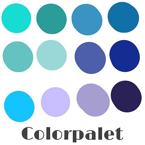 Instagram用カラーパレット作ってみたの画像 プリ画像
