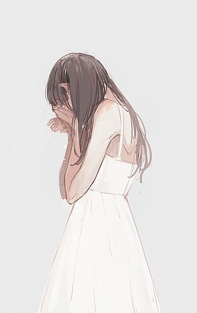 🌸泣いてる🌸の画像(プリ画像)