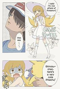 物語シリーズ×ポケモンの画像(プリ画像)