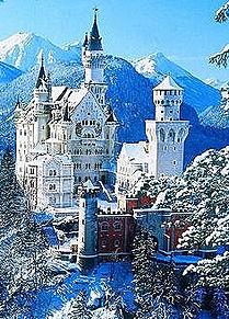 シンデレラ城: ノイシュヴァンシュタイン城の画像(ドイツに関連した画像)