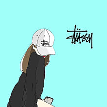 ストゥシー stussy ペア画の画像(STUSSYに関連した画像)
