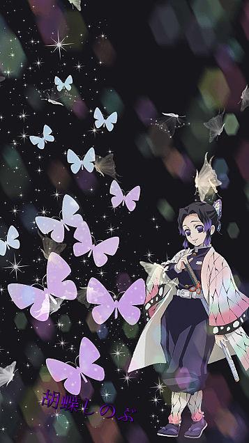 胡蝶 しのぶ 壁紙