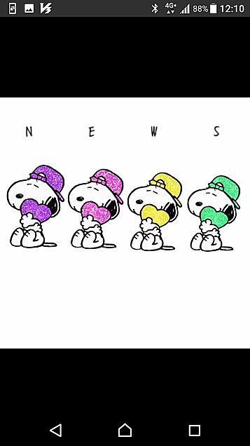 NEWS スヌーピーの画像(プリ画像)