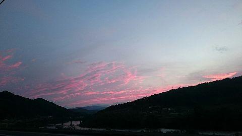 夕日の画像(プリ画像)