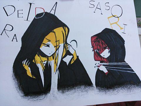 デイダラ&サソリの画像(プリ画像)