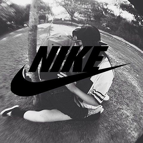 NIKE。海外カップルの画像(プリ画像)