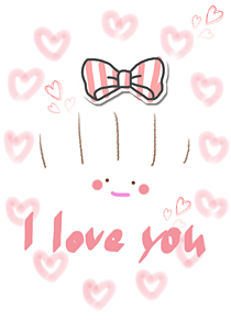 I L♥VE Y♥U プリ画像