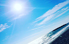 海 景色 プリ画像