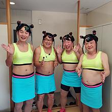 フワちゃん×4 プリ画像
