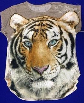 トラのTシャツの画像(プリ画像)