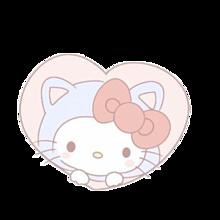 キティちゃん♡スタンプ♡背景透明➳詳細お読みください❕の画像(♡スタに関連した画像)