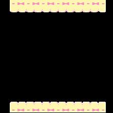 量産型フレーム🎀🥺ྀིྀི背景透明🎀➳詳細お読みください。の画像(りぼんに関連した画像)