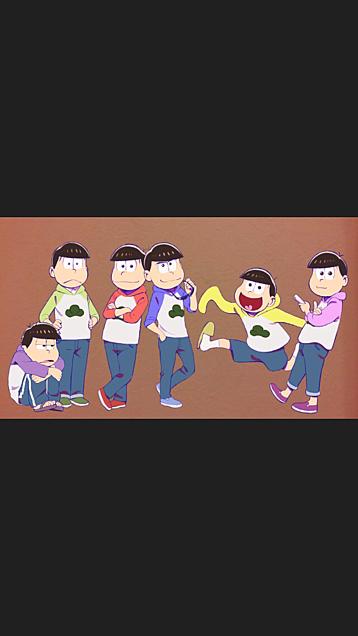 おそ松さん 壁紙の画像(プリ画像)