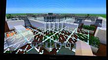 マイクラでスプラトゥーンのステージ作ってみた part1の画像(プリ画像)
