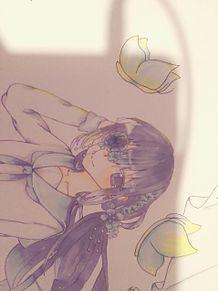花びら少女 プリ画像
