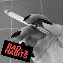 タバコの画像(悪い習慣に関連した画像)