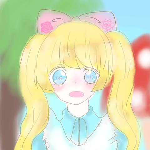 アリス風少女の画像(プリ画像)