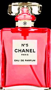 CHANEL 赤色 レッド 香水ボトル シャネルの画像(香水 背景に関連した画像)