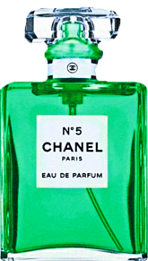 CHANEL 緑色 グリーン 香水ボトル シャネルの画像(フレグランスに関連した画像)