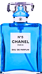 CHANEL 青色 水色 スカイブルー 香水ボトル シャネルの画像(フレグランスに関連した画像)