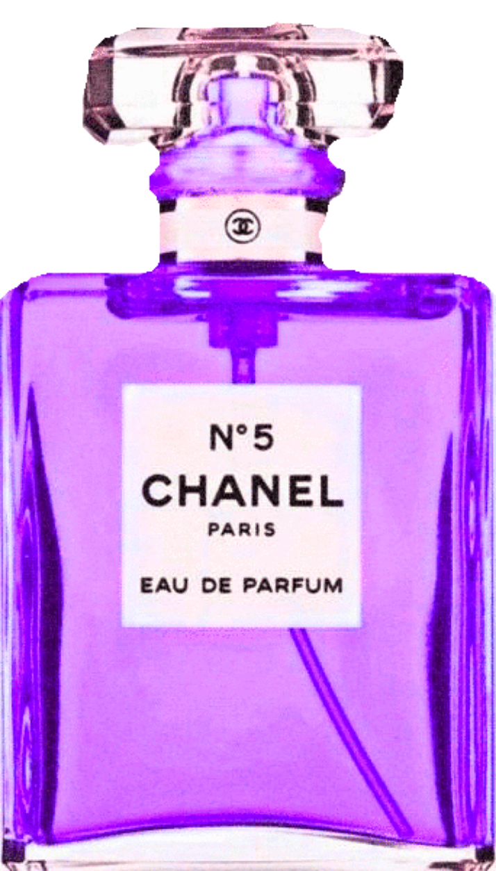 Chanel 紫色 パープル 香水ボトル シャネル 64166743 完全無料画像