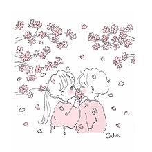 桜🌸の画像(桜 イラスト おしゃれに関連した画像)