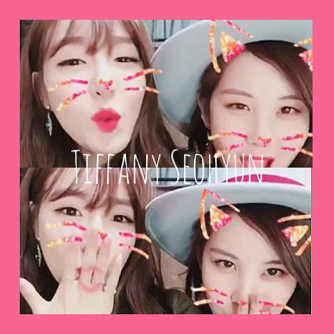 Tiffany&Seohyunの画像(プリ画像)