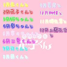 地縛少年花子くん  誕生日占い🔯  詳細見てね!の画像(占いに関連した画像)