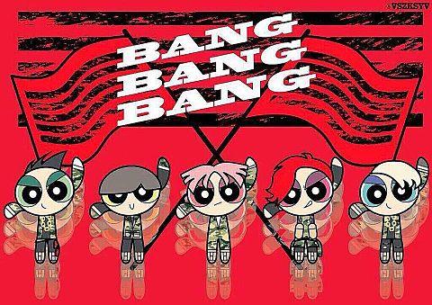 BIG BANG パワーパフガールの画像(プリ画像)
