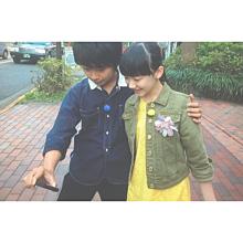 清史郎くん肩つかんでる♡の画像(芦田愛菜に関連した画像)