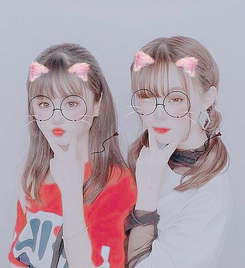 桜チャン と しずくチャン🌸💧の画像(プリ画像)